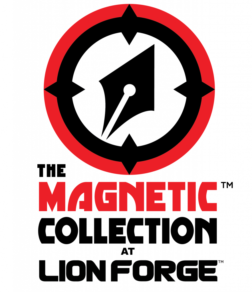 Magnetic Collection at Lionforge Logo